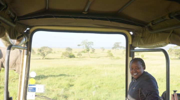 Meet One of the Few Female Safari Guides in Kenya